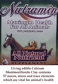 Clay Nutramin for Animals